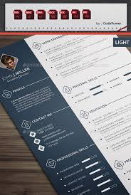 best cv template 10 all time best premium simple infographic resume cv template