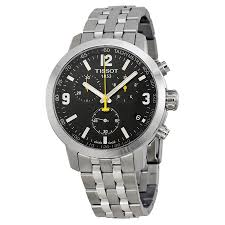 tissot prc 200 chronograph black dial stainless steel men s watch tissot prc 200 chronograph black dial stainless steel men s watch t0554171105700