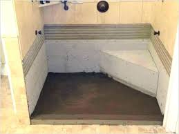 build a shower build your own shower pan concrete shower base how to build a shower build a shower