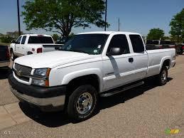 Silverado 2003 chevy silverado extended cab : 2003 Summit White Chevrolet Silverado 2500HD LS Extended Cab 4x4 ...