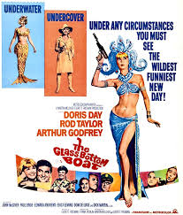Image result for doris day the glass bottom boat