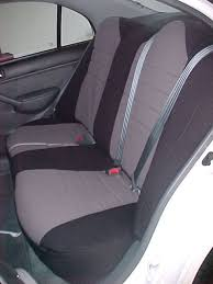 honda civic standard color seat covers rear seats