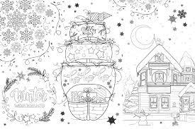 Jetzt die berufe ausmalbilder gratis downloaden und ausdrucken! Fensterbilder Ausmalbilder Fur Weihnachten Und Winter Ella Mattsson