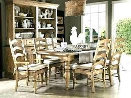 farmhouse style dining room table sets farm eco server farm style dining room table and chairs
