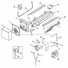 jenn air jcd2389ges parts list and diagram ereplacementparts com