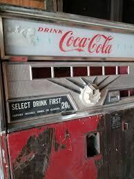 Vending Soda Machine Impressive Vintage Coca Cola Vending Soda Machine Antiques In Kenosha WI