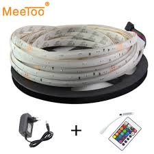 Online Shop RGB <b>LED Strip</b> LED TV 12V <b>5M 3014</b> SMD waterproof ...