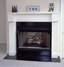 atlanta 36 plaster fireplace mantel