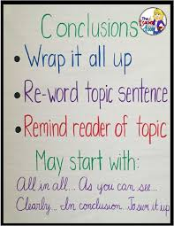 Conclusion Sentences  Paragraph Writing for  rd    th Grade     Pinterest FREE Thematic Units   New Years  G is for Gingerbread  and Kwanza  Kids  WritingCreative WritingWriting IdeasWriting