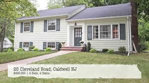 Charming Bedroom Split Level Home For Sale In Caldwell NJ YouTube - Split level exterior remodel
