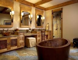 Rustic Bathroom Design Impressive Ideas