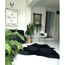 black cowhide solid black cowhide rug solid black cowhide rug black and white faux cowhide fabric cowhide rug