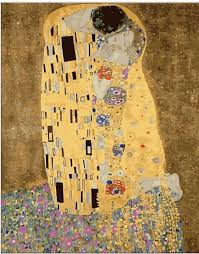 gustav klimt kiss painting gifts diy handmade painting by numbers abstract drawing coloring by numbers on
