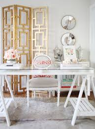 female office decor. office decor for women 30 best glam girly feminine workspace design ideas female e