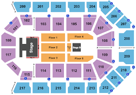 Rabobank Arena Seating Chart With Seat Numbers New Kids On The Block Salt N Pepa Naughty By Nature At