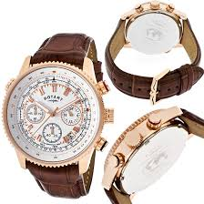 rose gold men s and women s watches 65 99 for rotary men s chronograph watch brown rotary gs00102 01 595 list price