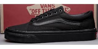 vans all black. vans shoes all black authentic womens/mens classic canvas sneakers