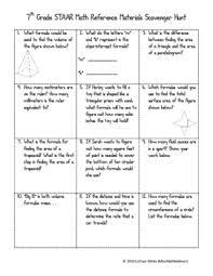 All Inclusive Staar Math Chart 8th Grade Math Chart Taks