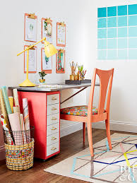 storage solutions for home office. Colorful And Organized Home Office Storage Solutions For