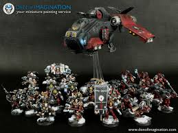 flesh tearers army lvl 4 and 5