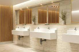 white grp wall mounted wash trough