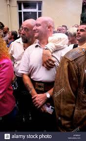 gayfest manchester uk two bears heavily built gay men watch the gayfest manchester uk two bears heavily built gay men watch the parade through manchester city centre homer sykes