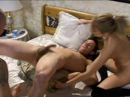Husbands first bisexual sex