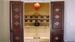 house pooja room door design