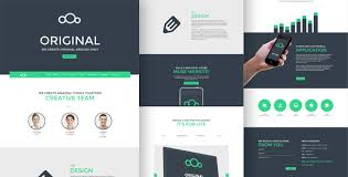 One Page Newsletter Templates Original One Page Multi Purpose Muse Template By Angrypen Themeforest