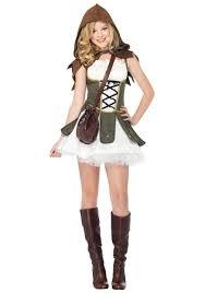 artemis girls costume. teen girls robin hood costume artemis