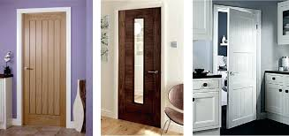 interior wooden doors tremendous solid wood color new decoration oak with glass fitted prehung interio