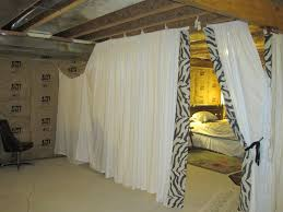 Ritas Sew Fun Es Fabric Guest Room What A Great Way To Jazz - Ununfinished basement before and after