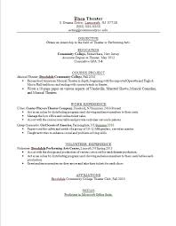 ... Free Download 2015 Teen Resume Examples For Job Seeker Download Theater  Major Resume Example ...