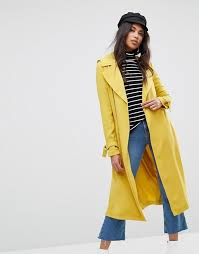 women s river island belted trench coat f51g3