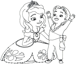 Small Picture sofia the first coloring pages to print Disney Coloring Pages on