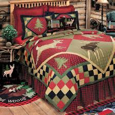 Lodge Wildlife Patchwork Quilt Bedding &  Adamdwight.com
