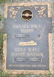 Gena Kaye Hamm Watson (1944-2008) - Find A Grave Memorial