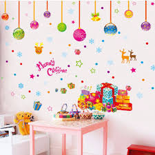 Christmas Decorations For The Wall Online Get Cheap Outdoor Window Christmas Decorations Aliexpress