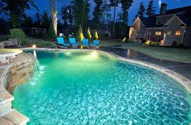 swimming pool lighting options. Lighting Stores Portland Pools Options For Custom Pool Swimming