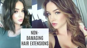 best hair extensions for fine thin hair tape ins semi permanent