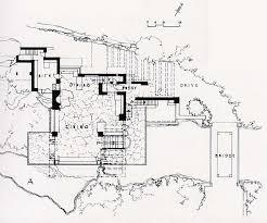 77 Best Frank Lloyd Wright  Fallingwater Images On Pinterest Falling Water Floor Plans