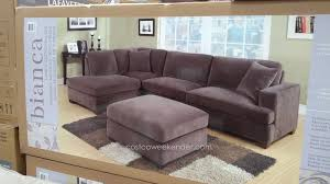 pulaski furniture costco reviews emerald home bianca 3piece sectional set u2016 easy care microfiber