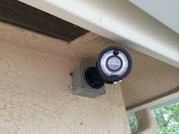 front door video cameraKeep an eye on what goes on in and around your home Install