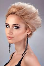 L Ssige Abendfrisur F R Kurze Haare Elegante Abendfrisuren