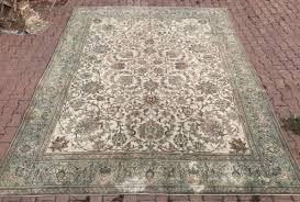 9 4 12 5ft oushak area rug 9 12 turkish rug beige oushak rug distressed rug overdye