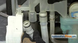How To Clean A Dishwasher Drain Dishwasher Drain Hose Part 00298564 How To Replace Youtube