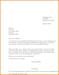 how to write a proper letter