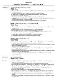 Quantitative Finance Resume Www Omoalata Com