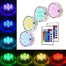 amazon com akdsteel submersible led light, rgb multi color Rbg Wiring Multiple Lights Pond akdsteel submersible led light, rgb multi color waterproof battery powered lights with remote controller for Three-Way Wiring Multiple Lights