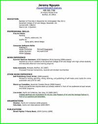 Examples Of Resumes Resume Good For With Best Samples 89 Amazing How